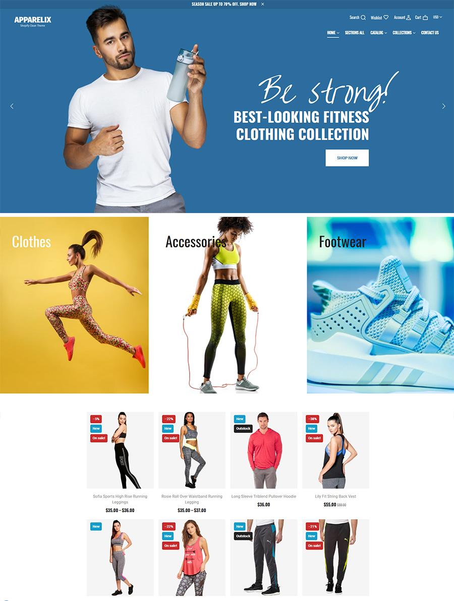 фитнес сайт
